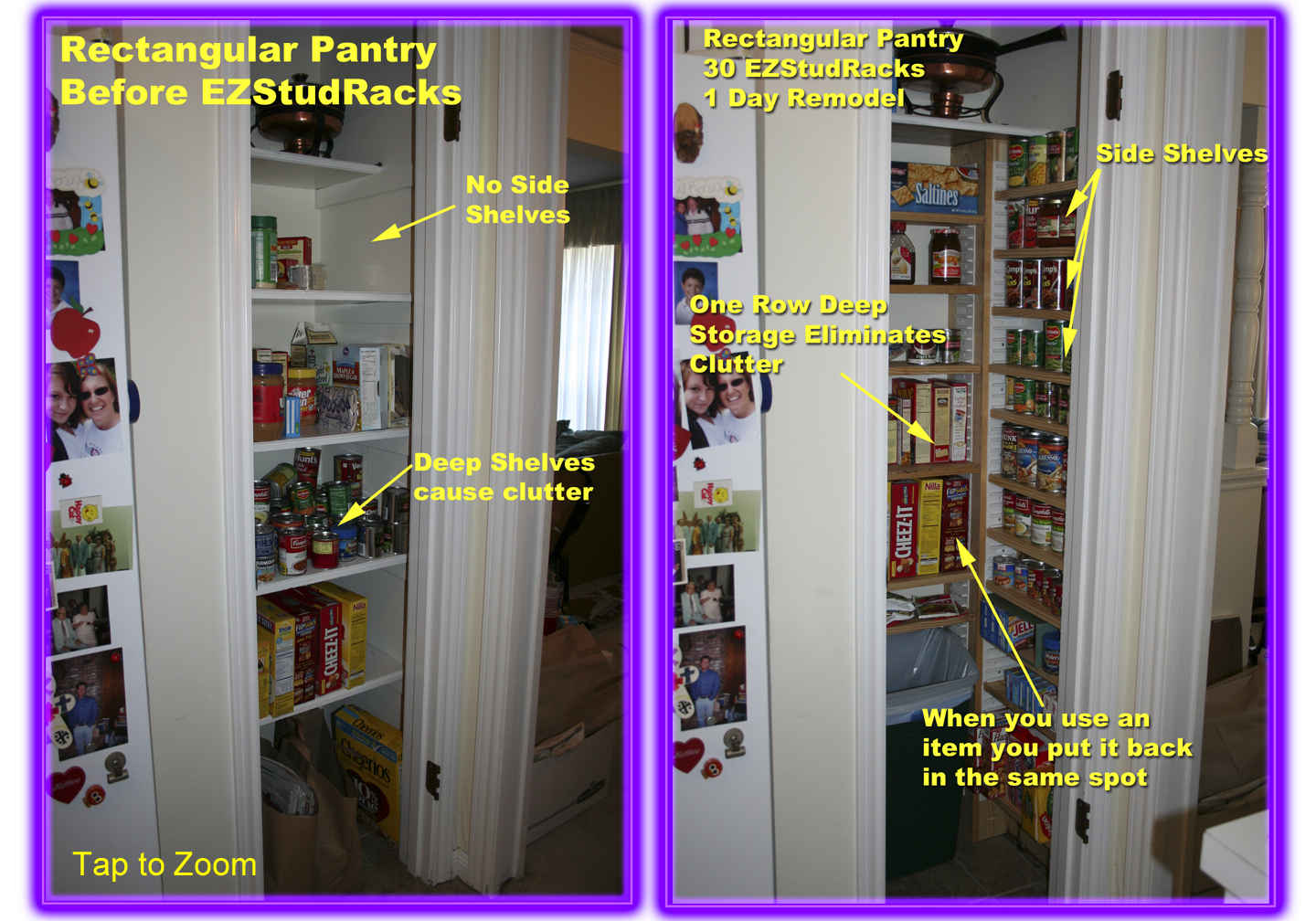 Rectangular Pantries