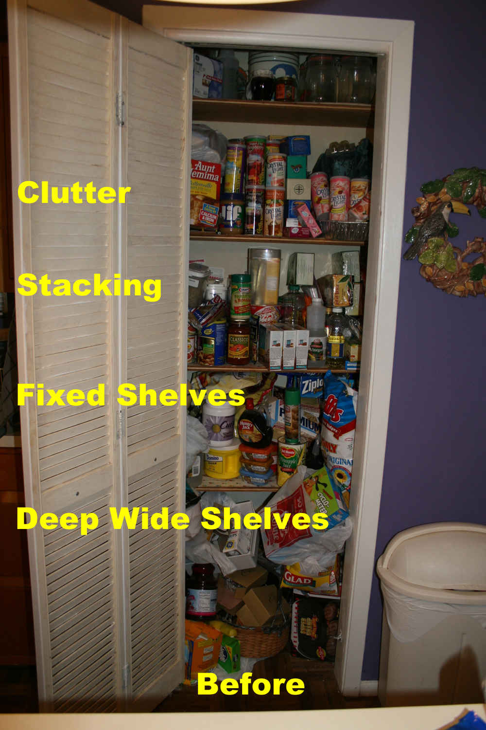 peek preppers inside pictures pantrys food prepper an pantry survive a uncensored pantries gallon storage s
